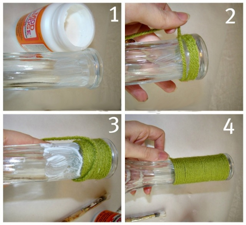 Как сделать вазу своими руками как