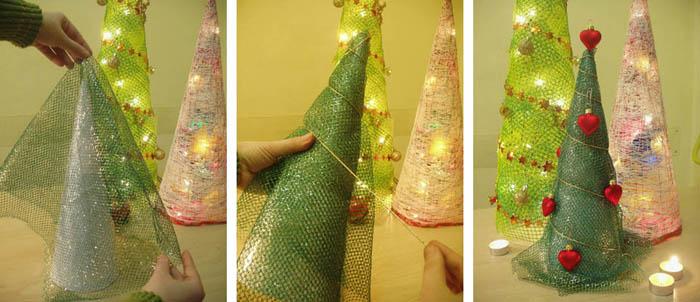 Поделки к новому году елка своими руками