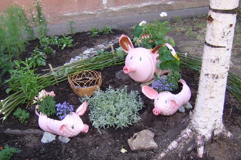 Поделки сад огород своими руками фото